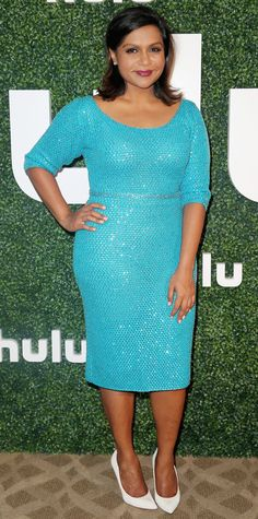 Look of the Day - August 10, 2015 - Hulu 2015 Summer TCA Presentation from #InStyle - Mindy Kaling