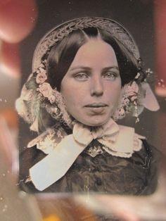 Antique American Beauty Daguerreotype Blue Eyes Hair Lips Angelina Jolie Look   eBay