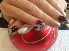 rad nails nail art on gel nails - Google Search
