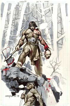 Conan by Cary Nord