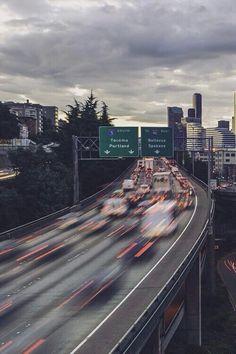 Imagem de car, city, and travel
