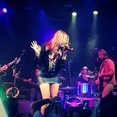 chelsiegracelove  Let us all take a moment to thank God that this woman exists. Grace Potter ladies and gentlemen!! Best show I've ever seen! ♥