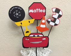 Cars Lighting McQueen and Mater Happy Birthday by TheGirlNXTdoor