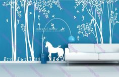 Hey, I found this really awesome Etsy listing at https://www.etsy.com/listing/179934880/nature-housewall-decals-nature-wall