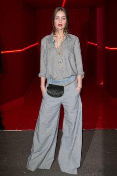 Marie-Ange Casta en total look Chloé à la soirée L'Oréal Paris