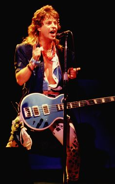 "Jack Blades - lead singer and bassist for Night Ranger, a hard rock band popular in the early eighties. Check out power ballad, ""Sister Christian."" He left to form short-lived supergroup, Damn Yankees."