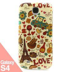Cute Paris S4 -  Funda Samsung Galaxy S4 - La Tienda de Doctor Manzana