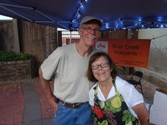Don and Donna Freeman - Briar Creek Vineyard