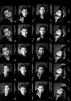 Beatles Songs, The Beatles, John Lennon, Jack Nicholson, Kurt Cobain, Music Poster, Leonardo Dicapro, Young Leonardo Dicaprio, Contact Sheet