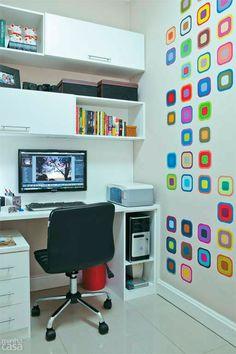 Locais de trabalho em casa merecem a TV instalando em um Suporte #suportefixo…