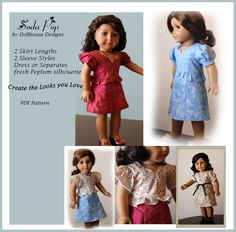 Dollhouse Designs Stylish Peplum Sewing by DollhouseDesigns, $6.95