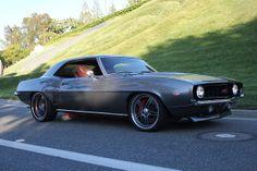 #BecauseSS Show wheels KWC 025 chrome 5 star 69 camaro grey