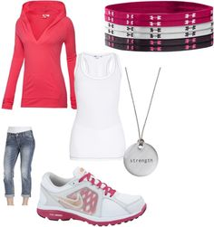 """Strong and proud: sporty fashion"" by linds-waterman on Polyvore"