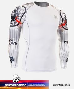 5825c183441 FIXGEAR CPD-W9 Compression Base Layer Shirt Back To The Gym