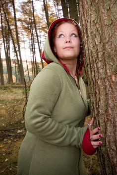 Alternative Clothing - Kankova Coat - Alienskin Clothing: Hand made