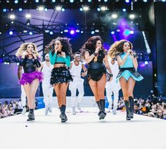 Little Mix performing at Capital FM's Summertime Ball ♥