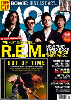 - Five years since they split, the group get together to help celebrate Out Of Time, and the Golden Age of Alternative Rock, in the latest issue https://www.magazinecafestore.com/mojo-uk-magazine.html