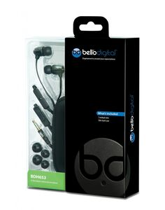 Bell'O Digital BDH653 Earbuds. Check out the review.