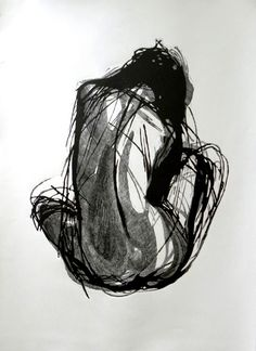 Untitled (nude) by Polish artist Justyna Mikusz. Linocut, x 1 m. via Justmiart Life Drawing, Drawing Sketches, Drawing Faces, Art Drawings, Drawing Tips, Pencil Drawings, Sketching, Figure Painting, Figure Drawing