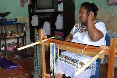 Mexican hammock. Suspension lines