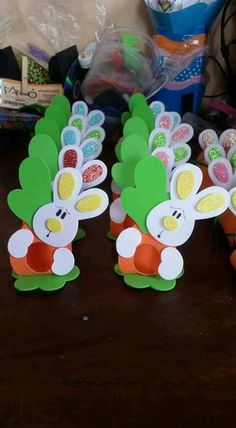 Easter Bunny April Easter Happy Easter Easter Eggs Easter Party Easter Crafts Crafts For Kids Special Day Birthday Charts Foam Crafts, Diy And Crafts, Paper Crafts, Baby Easter Basket, Easter Bunny, Bunny Crafts, Easter Crafts For Kids, Spring Crafts, Holiday Crafts