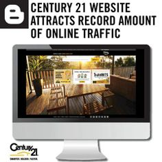 Century 21 Australia recorded the highest number of unique visitors to the company's website in its history during the month of October, reflecting growing activity in the property market and the ongoing digitalisation of the real estate group.