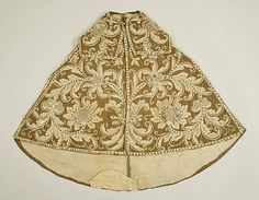 Cape Date: 17th century Culture: Spanish Medium: silk, linen