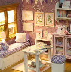 Nerea Pozo Art: enero 2013 ♥ Diorama LAVENDER STUDIO ♥
