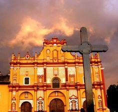 Cathedral of San Cristobal de las Casas Chiapas, Mexico