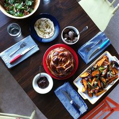 A Jerusalem feast by my nutrition personal chef friend @devynperez