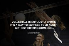 Are you looking for beautiful Sayings about Volleyball? Discover our Manual selection of the finest and most beautiful Volleyball Sayings.Volleyball is not just a sport; Volleyball Memes, Volleyball Workouts, Play Volleyball, Coaching Volleyball, Volleyball Players, Funny Volleyball Sayings, Libero Volleyball, Volleyball Motivation, Volleyball Training