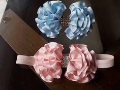 04 Flores de Tecidos Que Você vai Aprender de Forma Simples e Rápido para Tiara Broche e Cabelo - YouTube