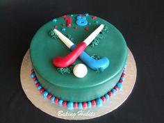 Field hockey cake by BakingHabits, via Flickr