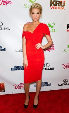 Kate Upton Where: At the Sports Illustrated swimsuit issue launch party, in New York Cit