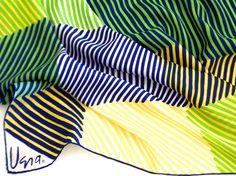 Vera Neumann Silk Scarf Hand Painted Op Art by TheBirdcageVintage, $29.99 #vintage #veraneumann #etsy