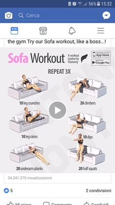 For lazy people diet workout lost Fitness Workouts, Fitness Diet, At Home Workouts, Health Fitness, Motivation Yoga, Couch Workout, Lazy People, I Work Out, Get In Shape