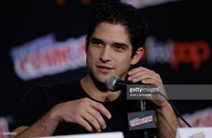 Tyler Posey from Teen Wolf attends New York Comic-Con 2015 day 2 at The Jacob K. Javits Convention Center on October 9, 2015 in New York City.