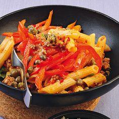 Pasta Ragù mit Paprika Rezept | Küchengötter