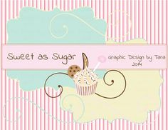 NEW Sweet as Sugar Clip Art For Personal by graphicdesignbytara
