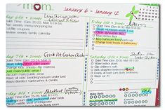 A Time for Everything: The Confident Mom Household Planner (aka, How I kissed chore charts goodbye)