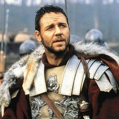 "#50. (Hero) General Maximus Decimus Meridius from ""Gladiator"" as portrayed by Russell Crowe"