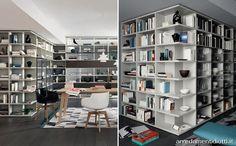 Libreria Modo bifacciale componibile - DIOTTI A&F Arredamenti