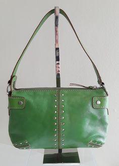 Michael Kors Astor Kelly Green Leather Studded Small Shoulder Bag Purse | Clothing, Shoes & Accessories, Women's Handbags & Bags, Handbags & Purses | eBay!