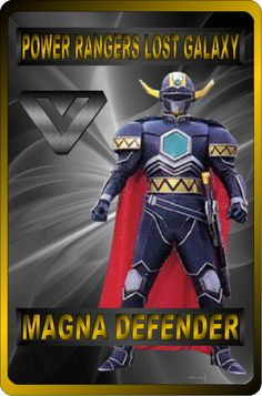Magna Defender by rangeranime on @DeviantArt