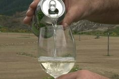 Forget the cork, screw cap or even a glass - 'cracking one open' isn't just for beer drinkers anymore.