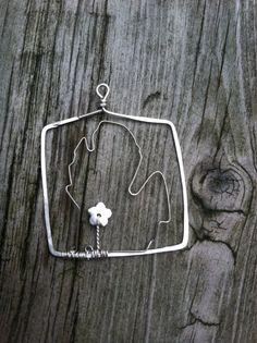 michigan pendant by NikkiMac on Etsy, $30.00