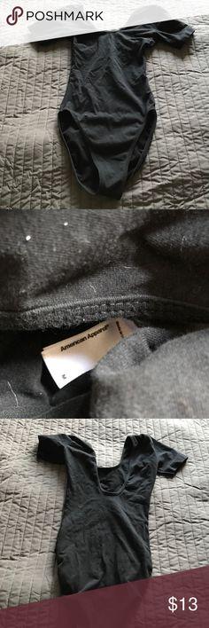 American Apparel leotard body suit size medium Cute! American Apparel leotard size medium American Apparel Tops
