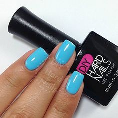 Gel (Shellac) Nail Polish - Sky Blue Gel - Can Use with Gelish, OPI, CND, or other Gel Nail Polishes - FREE BONUS with Every Purchase: Nail Salon Secrets Gel Guide Downloadable eBook. 100% Satisfaction Guarantee or Money Back!, http://www.amazon.com/dp/B00LDKHSQ0/ref=cm_sw_r_pi_awdm_3TPrub11VJD8S