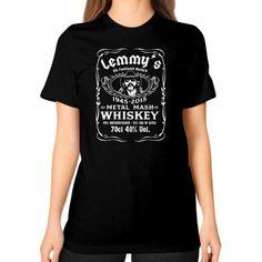 Apparels fastlemmy Unisex T-Shirt (on woman)