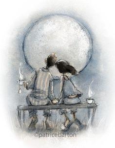 Parton barton Sweet Moon Baby.  Love, moonlight and tea...